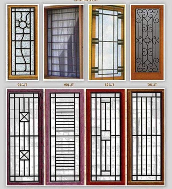 Các mẫu khung chống trộm cửa sổ đẹp, an toàn
