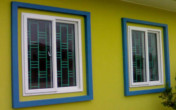 Mẫu khung cửa sổ cho văn phòng làm việc