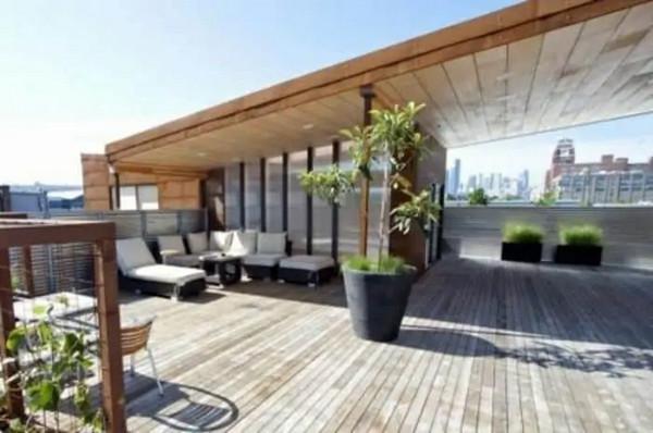 Mái che ban công bằng gỗ cao cấp
