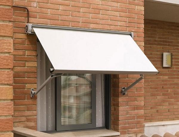 Mái che có thể gập cho cửa sổ ở căn hộ