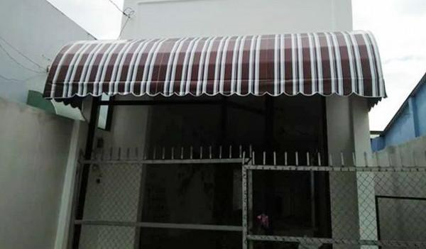 Mái hiên vòm dành cho nhà cấp 4
