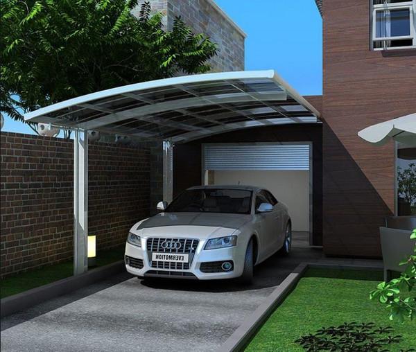 Mái hiên vòm dành cho chỗ để xe hơi