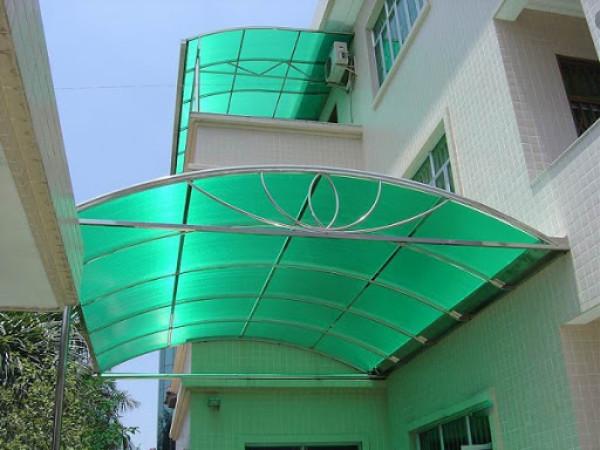 Mái vòm trước hiên nhà đẹp giá rẻ