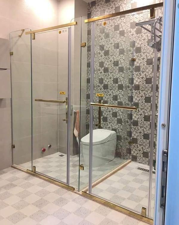 Top những mẫu vách kính phòng tắm đẹp
