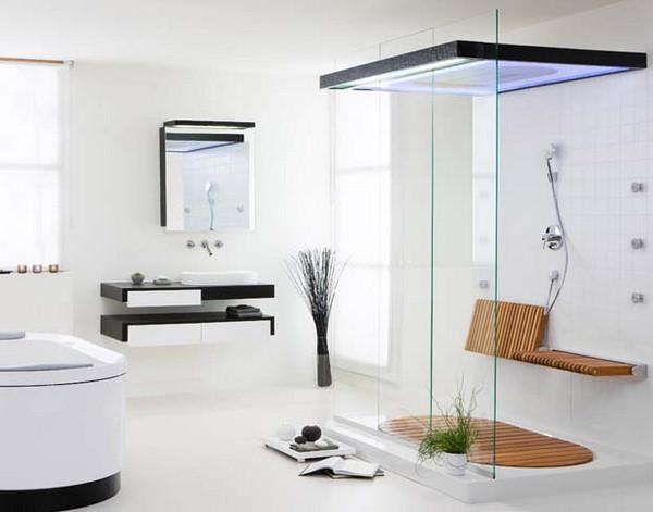 Vách kính phòng tắm nhỏ đem đến sự lựa chọn đa dạng