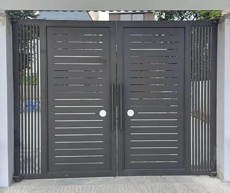 Kiểu cổng nhà đẹp đơn giản