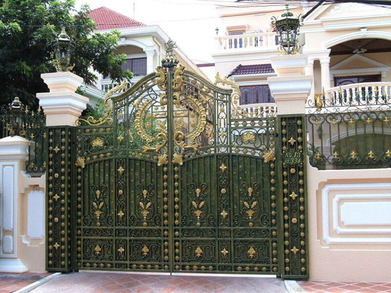 Mẫu cổng tân cổ điển sang trọng