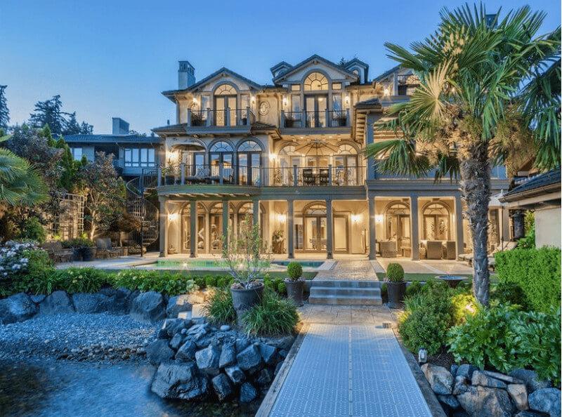 Dinh thự phù hợp với phong cách nhà tân cổ điển