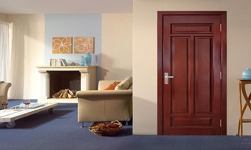 Đây là mẫu cửa được khá nhiều bạn trẻ lựa chọn vì sự đơn giản dễ thao tác không quá nhiều chi tiết rườm rà nhằm tôn vinh vẻ đẹp của các món đồ nội thất còn lại