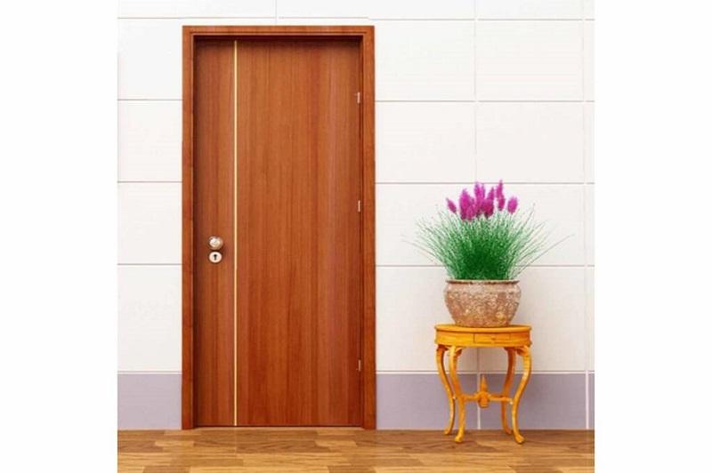 Mẫu cửa nhôm giả gỗ với gam màu tươi sáng trẻ trung phù hợp cho những bạn trẻ trẻ trung năng động