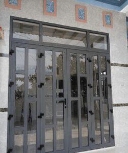 cửa nhôm hệ 1000 chia ô có nhiều đặc điểm nổi bật