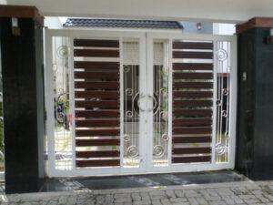 Phong cách cổng nhà hiện đại
