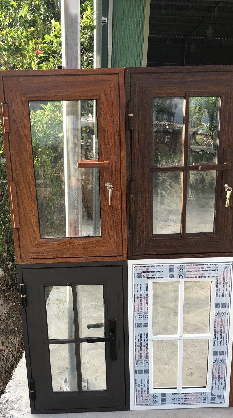4 mẫu cửa sổ nhôm Konig đẹp, cao cấp