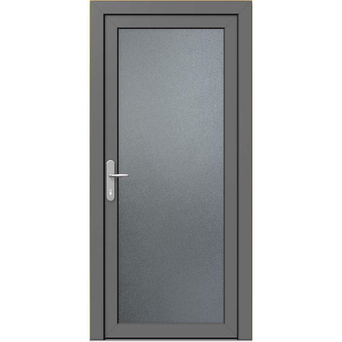 Mẫu cửa nhôm xingfa kính mờ 1 cánh hiện đại