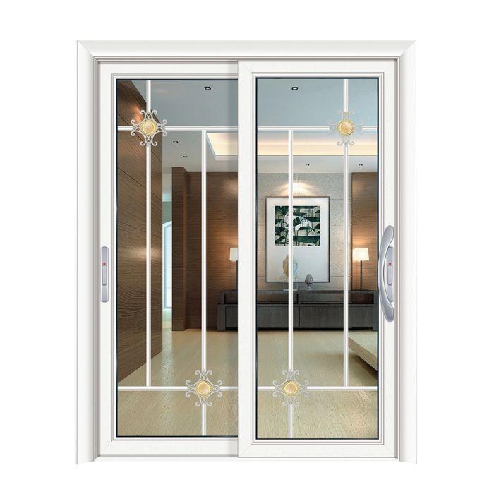 Mẫu cửa nhôm xingfa màu trắng với thiết kế đẹp, sang trọng