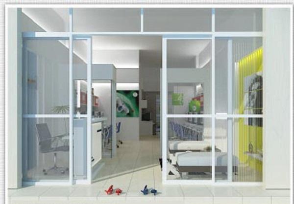 Mẫu cửa nhôm kính phòng khách mở lùa với thiết kế độc đáo, nổi bật