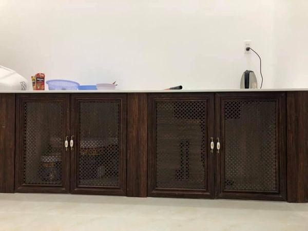 Tủ bếp nhôm hệ tủ Queen Việt - Hình 1