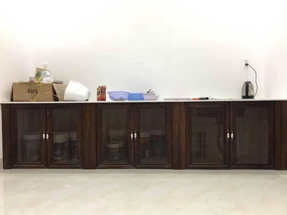 Tủ bếp nhôm hệ tủ Queen Việt - Hình 3